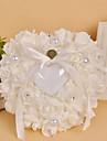 Alb 1 Panglici Perlă Artificială Cristal Satin
