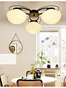 5 Lustre ,  Contemporain Peintures Fonctionnalite for LED / Style mini Metal Salle de sejour / Chambre a coucher / Salle a manger