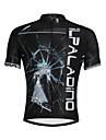 PALADIN® Cykeltröja Herr Kort ärm CykelAndningsfunktion / Snabb tork / Ultraviolet Resistant / Minskar skavsår / Svettavvisande / Mjuk /