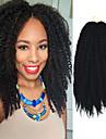 coquin La Havane Boucle Afro Kinky Tresses Extensions de cheveux Kanekalon Cheveux Tressee