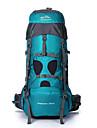 75 L Randonnee pack Organisateur Voyage sac a dos Camping & Randonnee Voyage Exterieur Multifonctionnel Vert Rouge Bleu Fonce Bleu Ciel