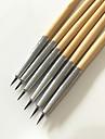 6pcs couleur dessin stylo nail outil d\'art mis a ongles