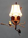 nord vintage metal amercian avec l\'oiseau de resine et lampe de mur de pomme de pin convient pour le salon / salle a manger murale