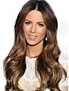 8-26 pouces naturelle vierge de cheveux bresilien dentelle boucles perruque avant