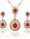 Bijuterii Coliere / Σκουλαρίκια Seturi de bijuterii de mireasă Vintage Nuntă / Petrecere / Zilnic / Casual Cristal / Aliaj 1set Dame