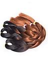 Beige Box Braids twist Flätor Hårförlängningar 20inch Kanekalon 3 Strå 100G gram Hair Braids