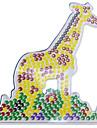 1st mall klart Perler pärlor bricka giraffmönster för 5mm Hama Pärlor säkrings pärlor