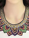 Dame Coliere Reșină Material Textil Aliaj La modă Bohemia Stil Curcubeu Bijuterii Petrecere Zilnic 1 buc