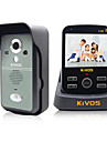 kivos intercom visuel sans fil sonnette menage antivol sonnette surveillance a distance de verrouillage de l\'appareil photo kdb300