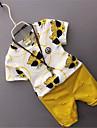 Băieți Seturi Imprimeu Animale Bumbac Casul/Zilnic Vară Manșon Scurt Set Îmbrăcăminte