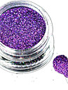 1 Bottle Nail Art Laser Charming Dark Purple Glitter Shining Powder Manicure Makeup Decoration Nail Beauty L14