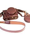 Olympus E - m10ii kamera hölster löstagbart batteri em10ii läder kameraväskor