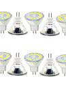 5W GU4(MR11) Lampe de Decoration MR11 15 SMD 5730 480LM lm Blanc Chaud / Blanc Froid Decorative 9-30 V 10 pieces