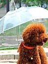 Hund Paraply Husdjur Transportörer Vattentät / Bärbar Transperant Plast