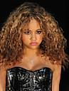 brun färg cosplay peruker afro syntetiska grossist kort lockigt part cosplay peruk