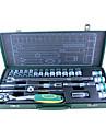 berrylion® 24 lastbil sätter hylsnyckel sätter skiftnyckel verktygslåda ställa in automatisk reparationsverktyg kit