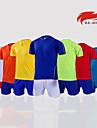 Andningsfunktion-Kort ärm-Klädesset/Kostymer(Gul / Vit / Röd / Himmelsblå) - tillFotboll-Herr