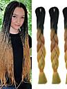 Crochet Jumbo Extensions de cheveux Kanekalon Cheveux Tressee
