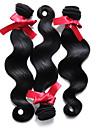 EVET bresilien ondes de corps de cheveux extensions de cheveux vierges humaine ondes de corps de cheveux 3pcs couleur naturelle /