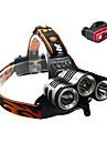 Lampes Frontales / Eclairage de Velo / bicyclette / Lampe Avant de Velo Cree XM-L T6 CyclismeEtanche / Rechargeable / Resistant aux