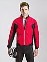 TASDAN® Veste de Cyclisme Femme Homme Manches longues VeloRespirable Garder au chaud Pare-vent Permeabilite a l\'humidite Zip etanche