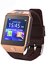 dz09 mtk6261 1,56 pouces bluetooth montre intelligente support carte micro sim appareils portables smartwatch