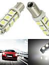 10pcs BA9S 13smd 5050 couleur blanche voiture auto LED lampe a ampoule (DC12V)