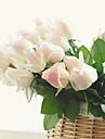 10 10 Une succursale Polyurethane Roses Fleur de Table Fleurs artificielles 55CM