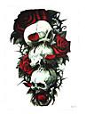 1 Tatouages Autocollants Series de totem Non Toxic / Motif / Bas du Dos / WaterproofHomme / Femme / Adulte flash TattooTatouages