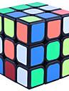 Yongjun® Cubes magiques 3*3*3 Vitesse Cube de vitesse lisse Noir Guhong Anti-pop / ressort reglable ABS Jouets