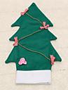 1pc vin couverture de bouteille bowknot noel sac arbre table de diner a la maison de decoration articles de fete
