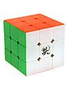 Dayan® Cube de vitesse lisse 3*3*3 Cubes magiques Arc-en-ciel Zhanchi Anti-pop / ressort reglable ABS