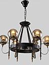40W Ljuskronor ,  Traditionell/Klassisk / Rustik/Stuga / Vintage / Kontor/företag / Rustik Målning Särdrag for Ministil MetallLiving Room