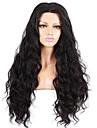 evawigs 10-26 pouces vague naturelle perruques 100% dentelle de cheveux humains devant perruques de couleur 130% de densite naturel noir