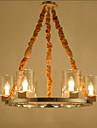 40W Hängande lampor ,  Traditionell/Klassisk Målning Särdrag for Ministil MetallLiving Room / Bedroom / Dining Room / Sovrum / Matsalsrum