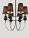 3 Ljuskronor ,  Modern Rektangulär Särdrag for designers Metall Living Room / Bedroom / Dining Room