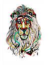 5 Tatouages Autocollants Series animales Non Toxic / Motif / Bas du Dos / WaterproofHomme / Femme / Adulte flash TattooTatouages