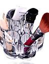 kristall gör upp kosmetiska container förvaringsväska låda container / badrum arrangör / akryl makeup penna låda