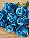 1 Une succursale Plastique Roses Fleur de Table Fleurs artificielles 51(20\'\')