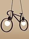 Lampe suspendue ,  Traditionnel/Classique Retro Rustique Peintures Fonctionnalite for Designers MetalChambre a coucher Salle a manger