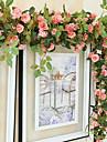 1 Gren Silke Roser Väggblomma Konstgjorda blommor 170CM