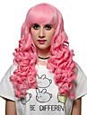 le style rose cheveux longs, Europe et les Etats perruque etats de la mode.