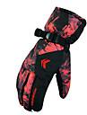 Gants de ski Gants hivernaux Tous Gants sport Garder au chaud Etanche Resistant au vent Gants Ski Toile Gants de skiRouge Noir Bleu