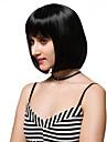 Perruques sans bonnet Perruques pour femmes Noir Perruques de Costume Perruques de Cosplay