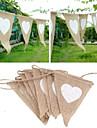 Jute Material Ecologic Decoratiuni nunta-1 buc / Set Primăvară Vară Toamnă Iarnă NepersonalizatEste un ajutor bun pentru nunta ta dacă ai