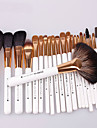 22Pcs Khaki Makeup Brush Sets Packing Professional Cosmetic Brush Sets