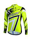 fastcute Maillot de Cyclisme Femme Homme Enfant Unisexe Manches longues Velo Shirt MaillotSechage rapide Zip frontal Respirable Doux zip