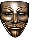 Mask Cosplay / Film- och TV-kostymer Festival/Högtid Halloween Kostymer Guldig / Vit Enfärgat Mask Halloween / Karnival Unisex Harts