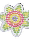 1st mall tydlig pegboard blomma för 5mm Hama Pärlor Perler pärlor säkrings pärlor