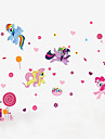 Animaux / Noel / Mode Stickers muraux Stickers avion Stickers muraux decoratifs,PVC Materiel Lavable / Amovible / Repositionable